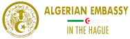 ALGERIAN EMBASSY IN THE HAGUE Logo