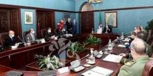 Le Président Tebboune préside la réunion périodique du Haut Conseil de Sécurité