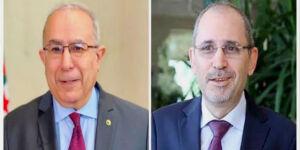 Lamamra s'entretient avec son homologue jordanien sur la situation dans la région arabe