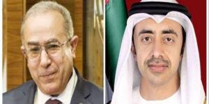 Algérie-EAU: Lamamra et son homologue émirati évoquent le renforcement des relations fraternelles