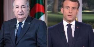 Le Président Tebboune reçoit un appel téléphonique du Président français